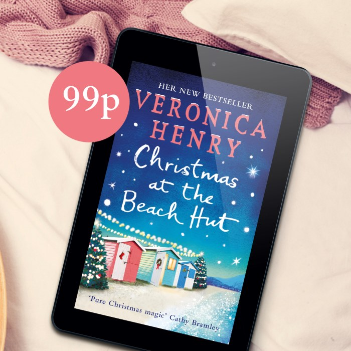 CHRISTMAS AT THE BEACH HUT - ONLY 99p