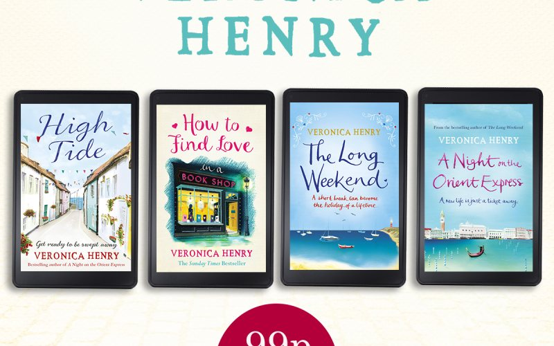 Four novels only 99p each on Kindle