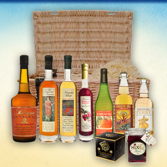 WIN A BASKET FROM THE SOMERSET CIDER BRANDY COMPANY